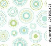 seamless abstract pattern of... | Shutterstock .eps vector #1091001626
