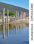 Small photo of Colonnaded street, ruins of ancient Patara, Antalya Province, Turkey