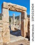 Small photo of ruins of ancient Patara, mugla Province, Turkey