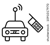 car toy icon | Shutterstock .eps vector #1091017970