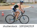 vilagarcia de arousa  galicia ... | Shutterstock . vector #1091042519