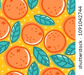 vector vintage seamless pattern ...   Shutterstock .eps vector #1091042744