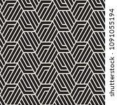 vector seamless pattern. modern ... | Shutterstock .eps vector #1091055194