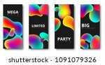 sale  shopping and party black... | Shutterstock .eps vector #1091079326