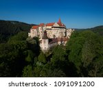 aerial view of beautiful ... | Shutterstock . vector #1091091200