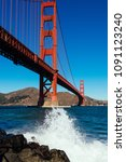 golden gate bridge | Shutterstock . vector #1091123240