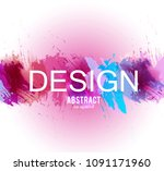 abstract vector background.... | Shutterstock .eps vector #1091171960
