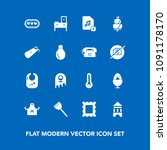 modern  simple vector icon set... | Shutterstock .eps vector #1091178170