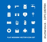 modern  simple vector icon set... | Shutterstock .eps vector #1091180984