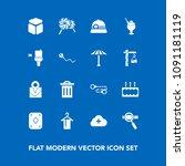 modern  simple vector icon set... | Shutterstock .eps vector #1091181119
