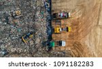 a lot of waste is disposed of...   Shutterstock . vector #1091182283
