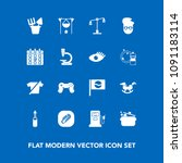 modern  simple vector icon set... | Shutterstock .eps vector #1091183114