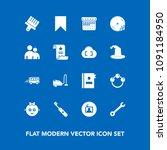 modern  simple vector icon set... | Shutterstock .eps vector #1091184950