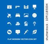 modern  simple vector icon set...   Shutterstock .eps vector #1091185004