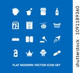 modern  simple vector icon set... | Shutterstock .eps vector #1091189360