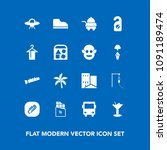 modern  simple vector icon set... | Shutterstock .eps vector #1091189474