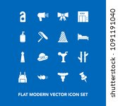 modern  simple vector icon set... | Shutterstock .eps vector #1091191040