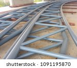 Steel Truss For Support Roofin...