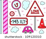 border illustration with a... | Shutterstock .eps vector #109120310