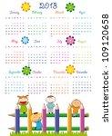 Calendar On 2013 Year