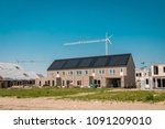 construction site of new dutch... | Shutterstock . vector #1091209010