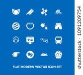 modern  simple vector icon set...   Shutterstock .eps vector #1091209754