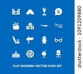 modern  simple vector icon set... | Shutterstock .eps vector #1091209880