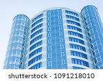 multi storey new building. ... | Shutterstock . vector #1091218010