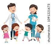 vector illustration of health...   Shutterstock .eps vector #1091221673