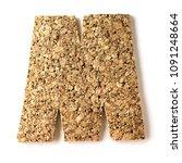 cork. alphabet.letter m  on... | Shutterstock . vector #1091248664