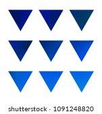 vector gradient reverse... | Shutterstock .eps vector #1091248820