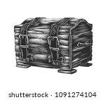 vector engraved style...   Shutterstock .eps vector #1091274104