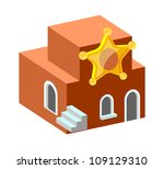 vector icon movie theater   Shutterstock .eps vector #109129310