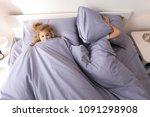 cute little children trying to... | Shutterstock . vector #1091298908
