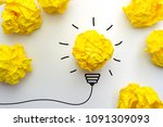 creative idea  inspiration  new ...   Shutterstock . vector #1091309093