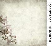 textured old paper background... | Shutterstock . vector #1091321930