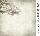 textured old paper background... | Shutterstock . vector #1091321948