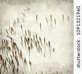 textured old paper background... | Shutterstock . vector #1091321960