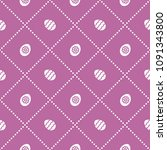 seamless pattern with eggs with ...   Shutterstock .eps vector #1091343800