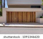 elegant contemporary house...   Shutterstock . vector #1091346620