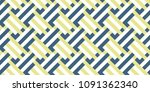 colored abstract geometric flat ... | Shutterstock . vector #1091362340