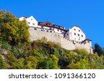 vaduz  liechtenstein   october... | Shutterstock . vector #1091366120
