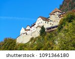 vaduz  liechtenstein   october... | Shutterstock . vector #1091366180