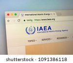 Small photo of Amsterdam, Netherlands - May 15, 2018: Official homepage of the IAEA, The International Atomic Energy Agency.