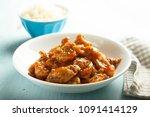 homemade chinese style pork... | Shutterstock . vector #1091414129