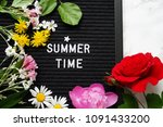 summer time background | Shutterstock . vector #1091433200