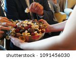sweets like confectionery and... | Shutterstock . vector #1091456030