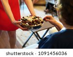 sweets like confectionery and... | Shutterstock . vector #1091456036