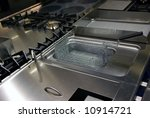 New kitchen appliances - stock photo