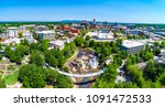 drone city aerial image of... | Shutterstock . vector #1091472533